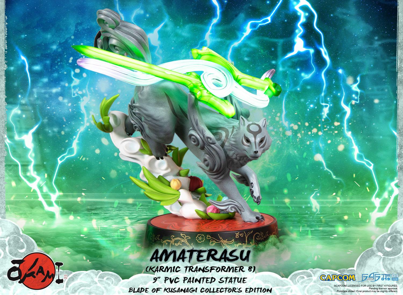 Amaterasu PVC: Karmic Transformer 8 (Blade of Kusanagi Collector's Edition)