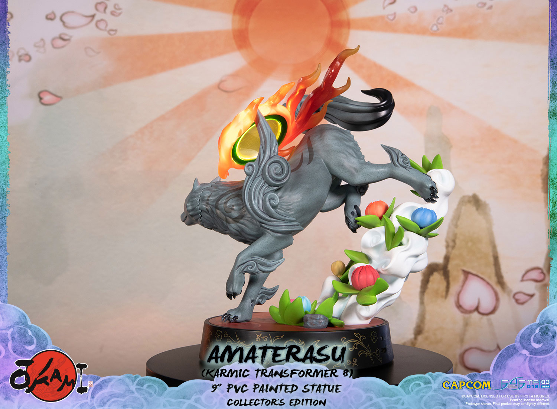 Amaterasu PVC: Karmic Transformer 8 (Collector's Edition)