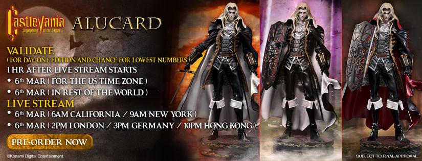 Alucard Pre-Order Now Live
