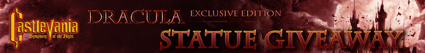 Dracula (Exclusive Edition) Statue Giveaway