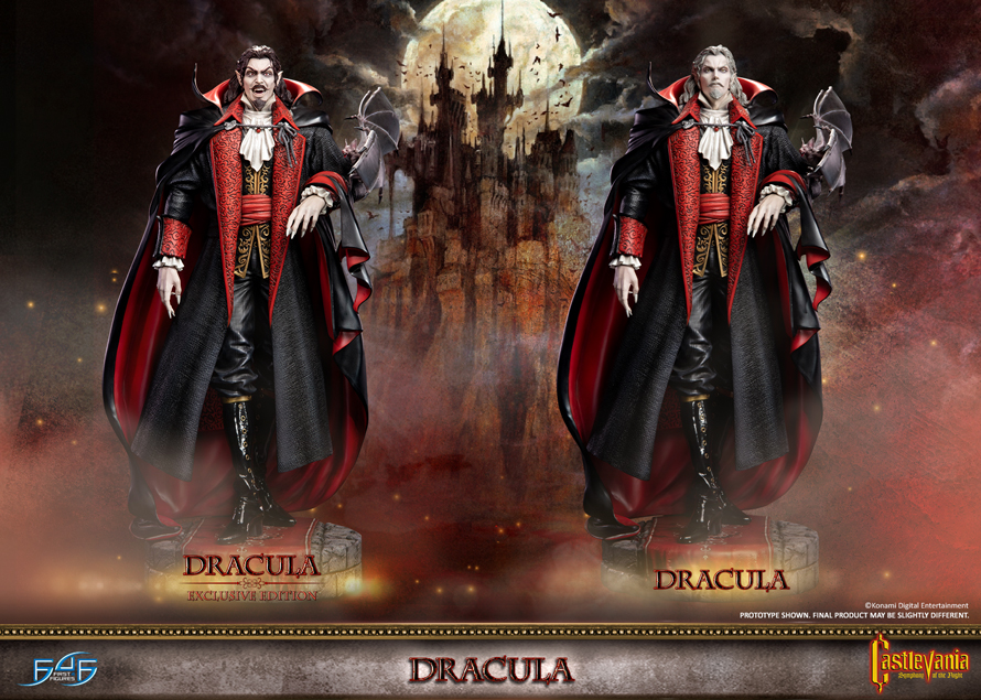 Dracula statue pre-orders NOW OPEN!