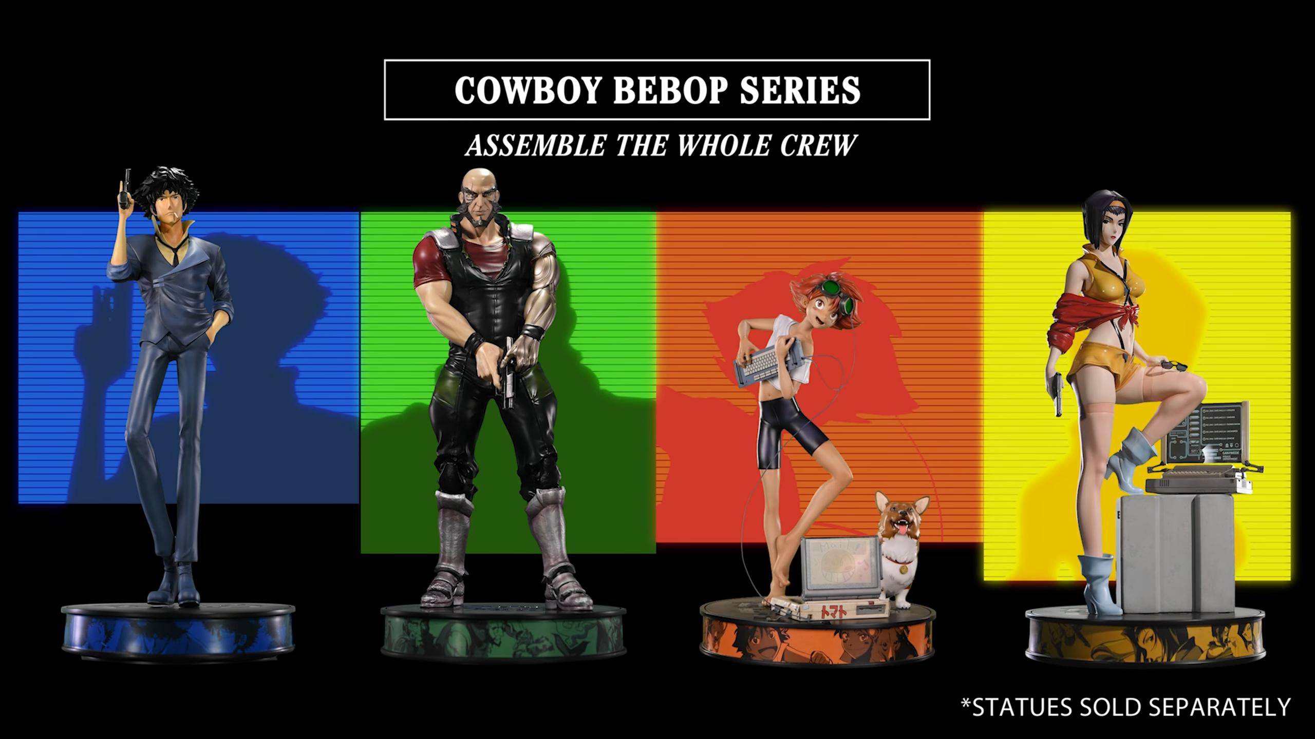 First 4 Figures Cowboy Bebop series