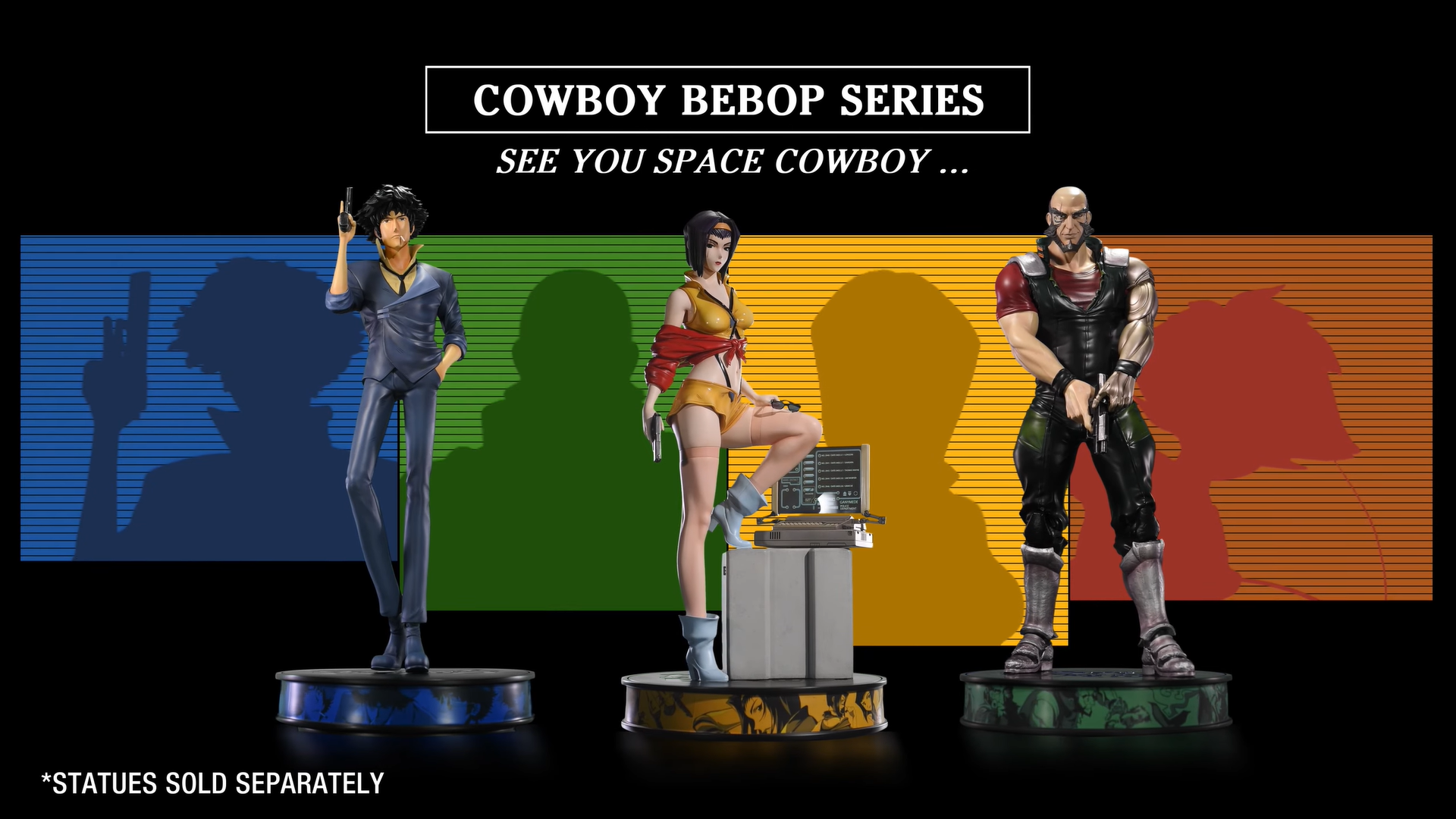 First 4 Figures Cowboy Bebop lineup