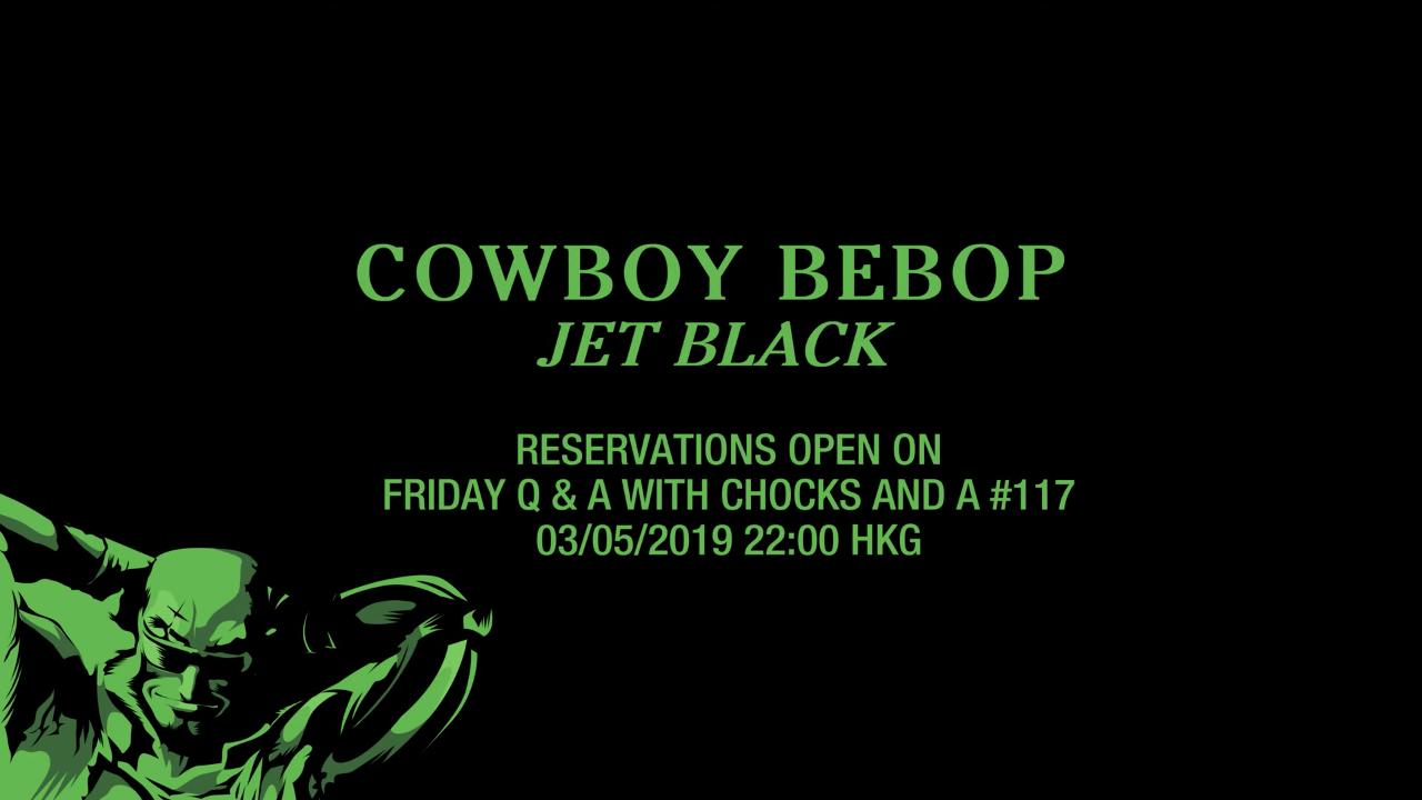 Jet Black pre-order schedule
