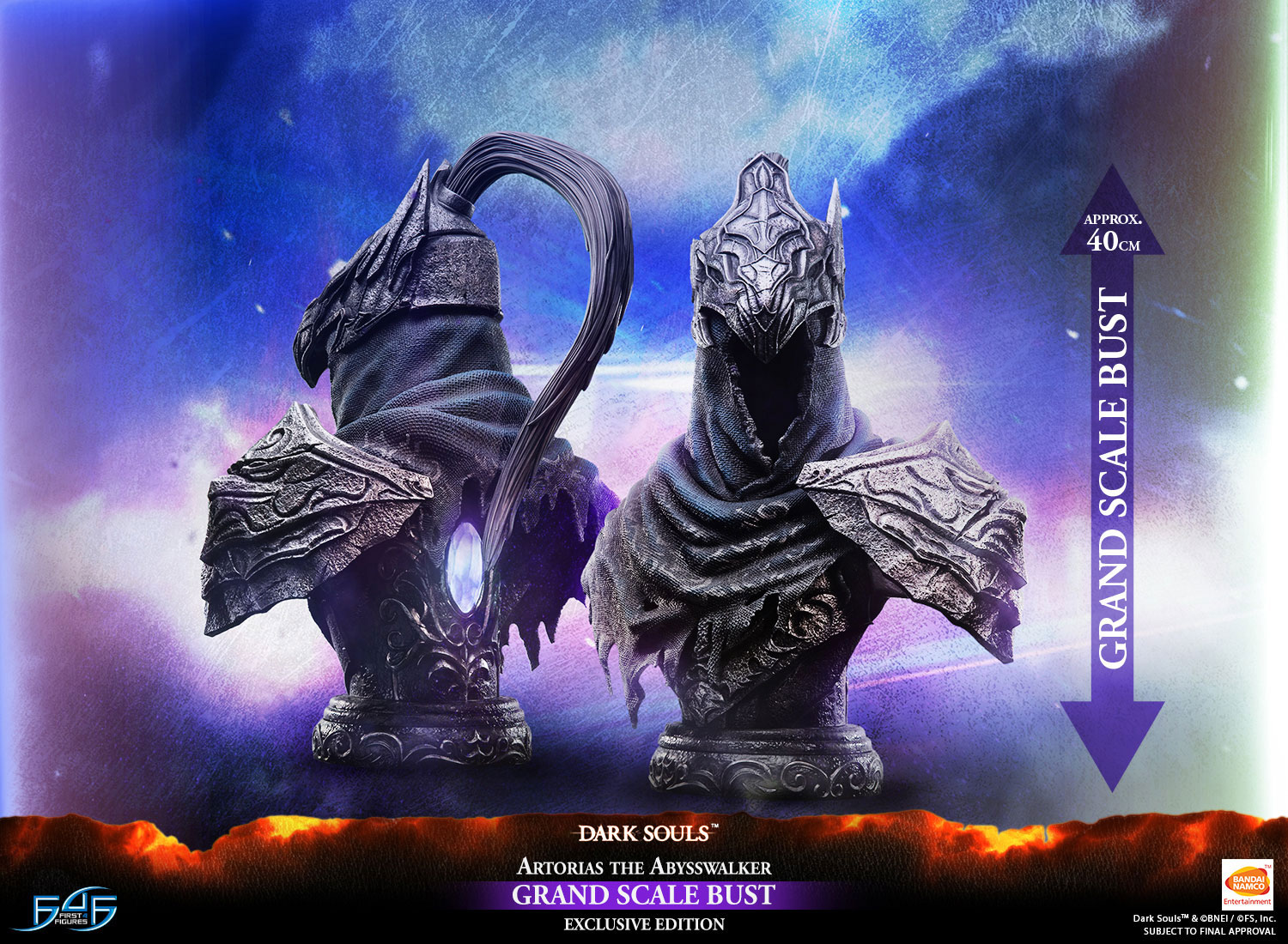 Artorias the Abysswalker Grand-Scale Bust (Exclusive Edition)