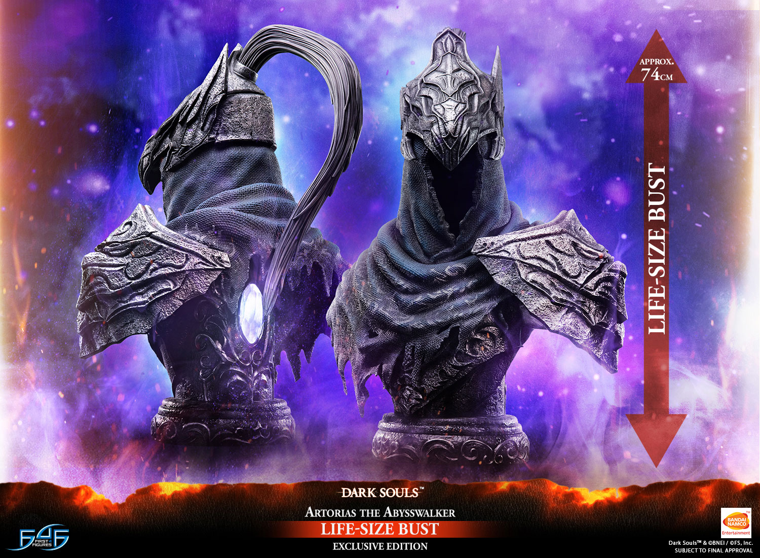 Artorias the Abysswalker Life-Size Bust (Exclusive Edition)