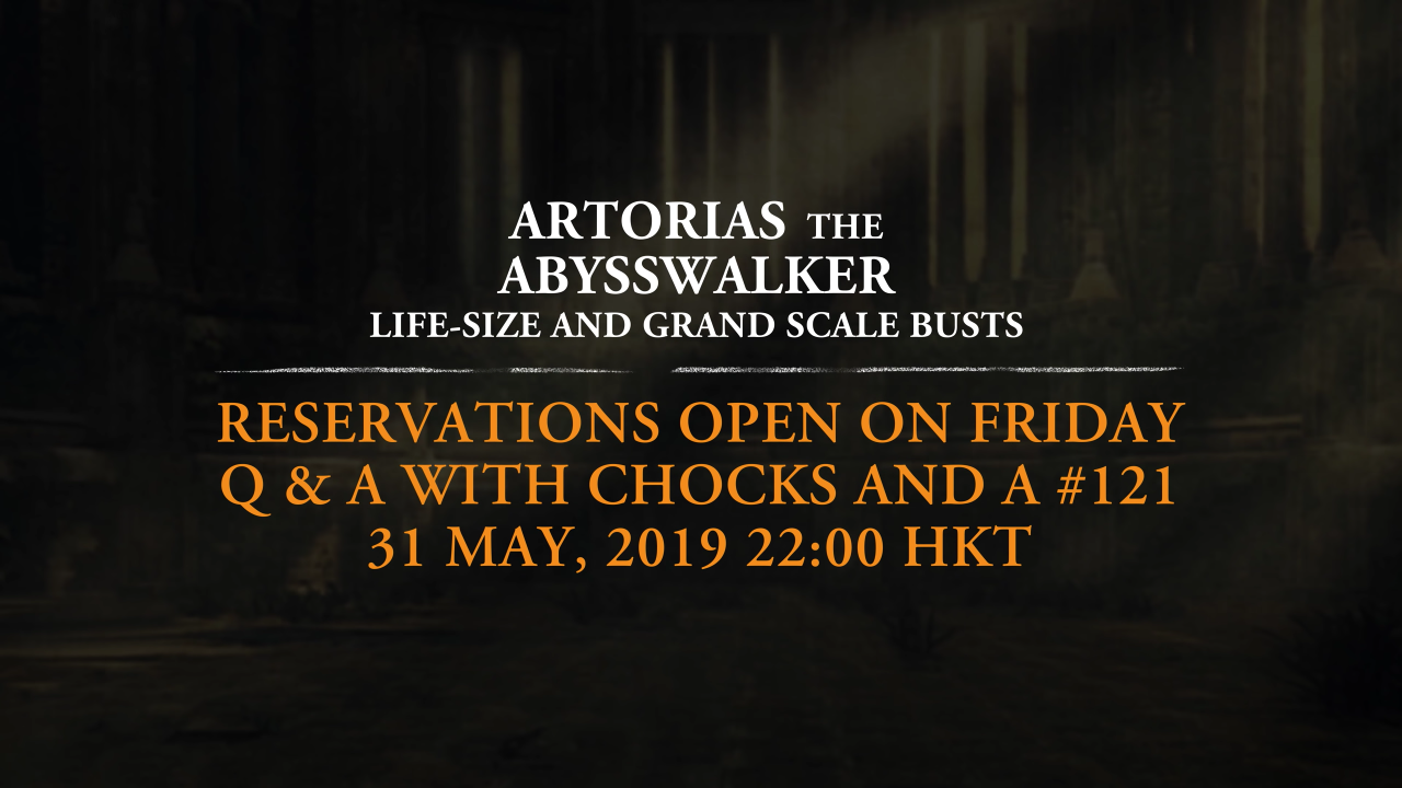 Artorias the Abysswalker Bust pre-order schedule