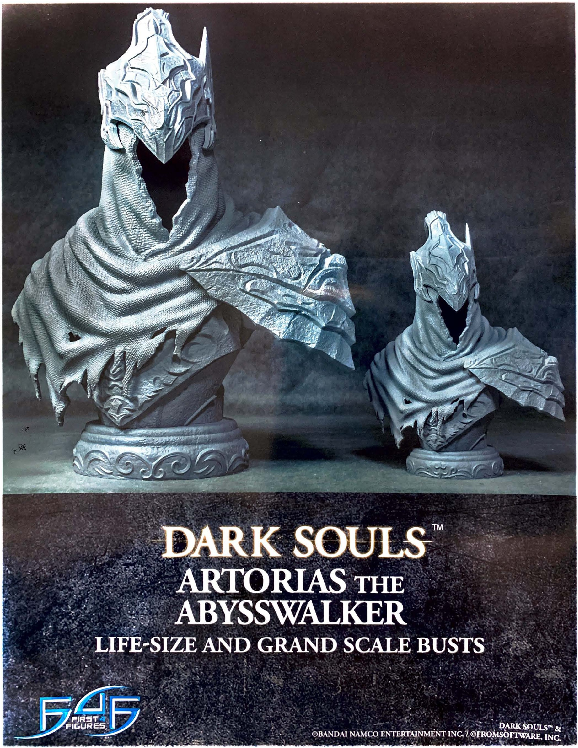 Artorias the Abysswalker Bust size comparison