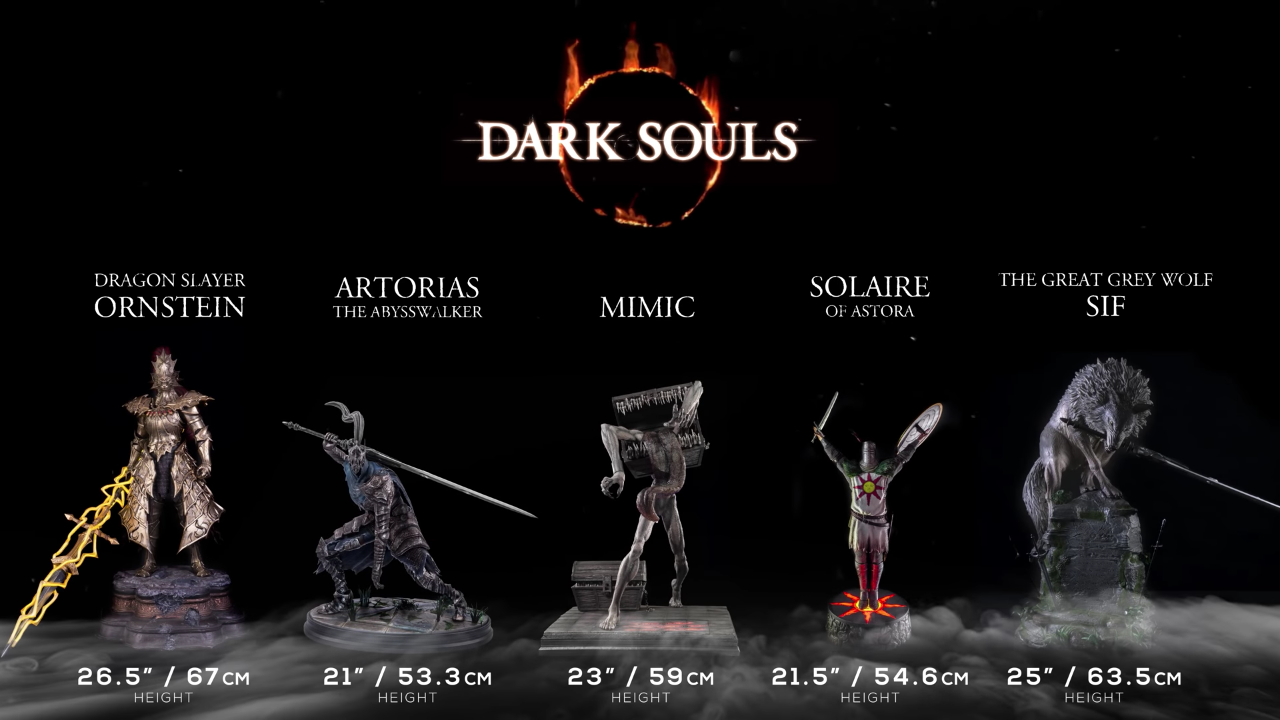 First 4 Figures Dark Souls lineup