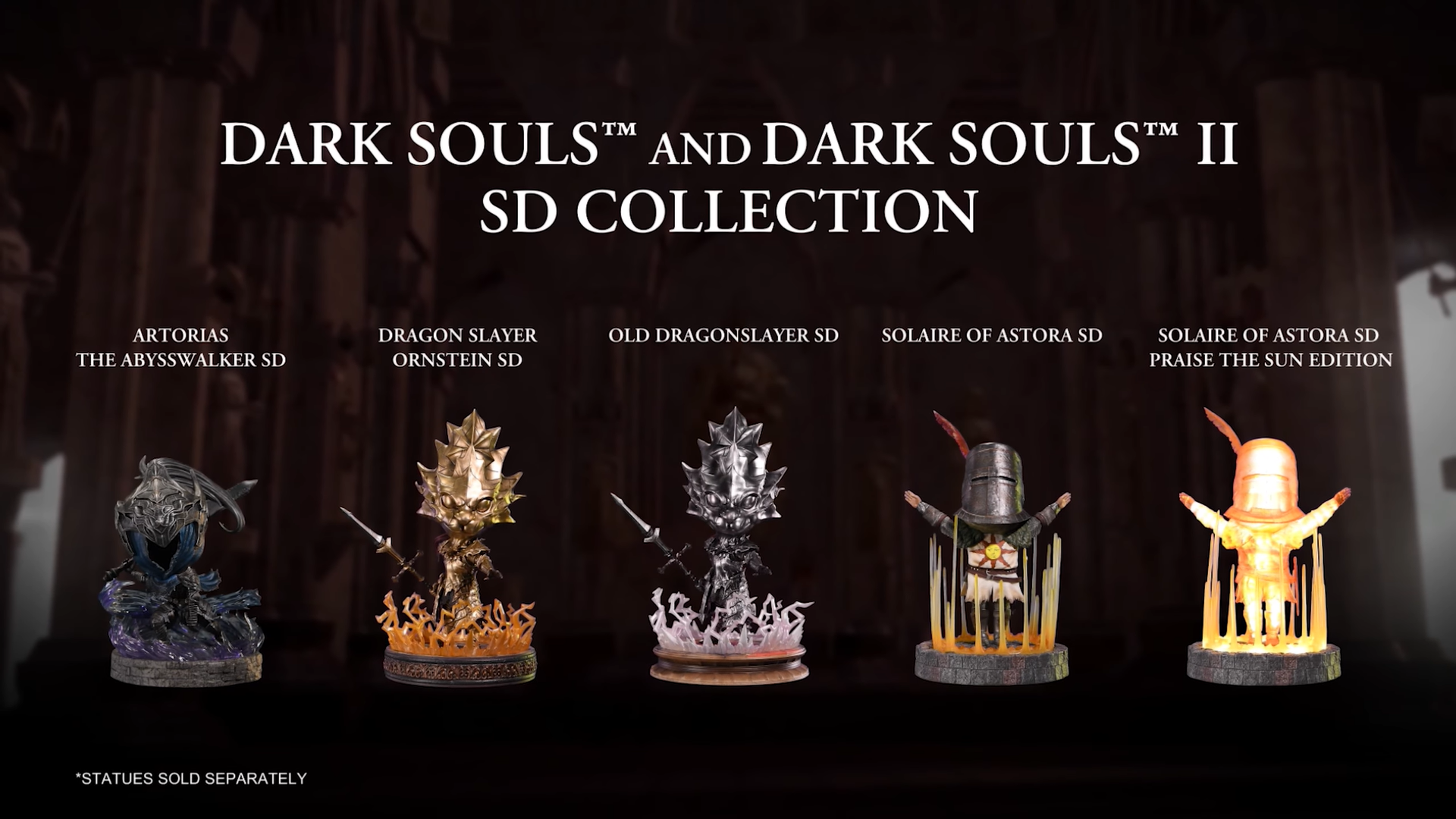 First 4 Figures Dark Souls™ SD lineup