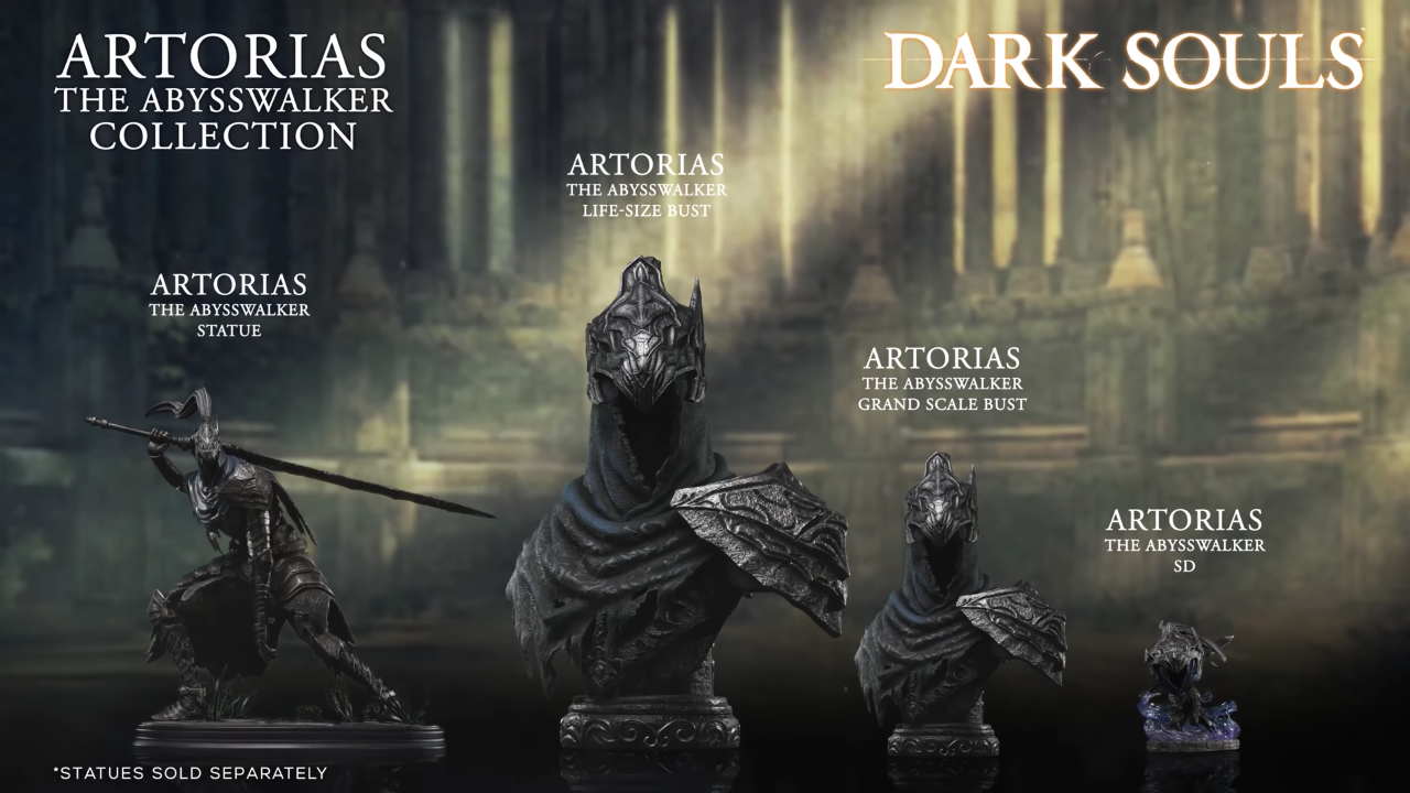 First 4 Figures Artorias the Abysswalker Collection