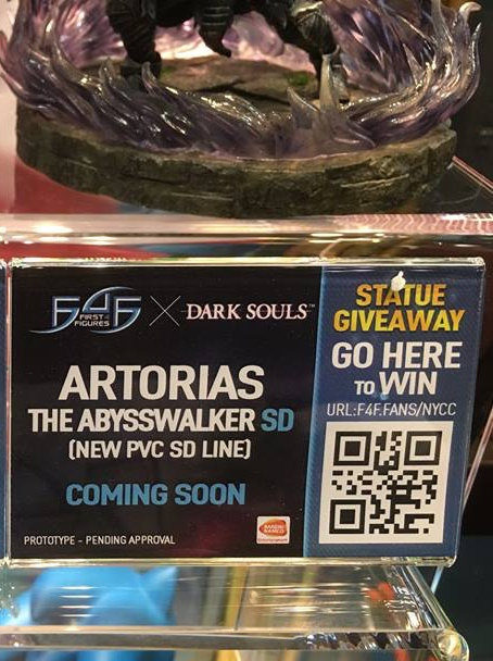 Artorias SD NYCC Label