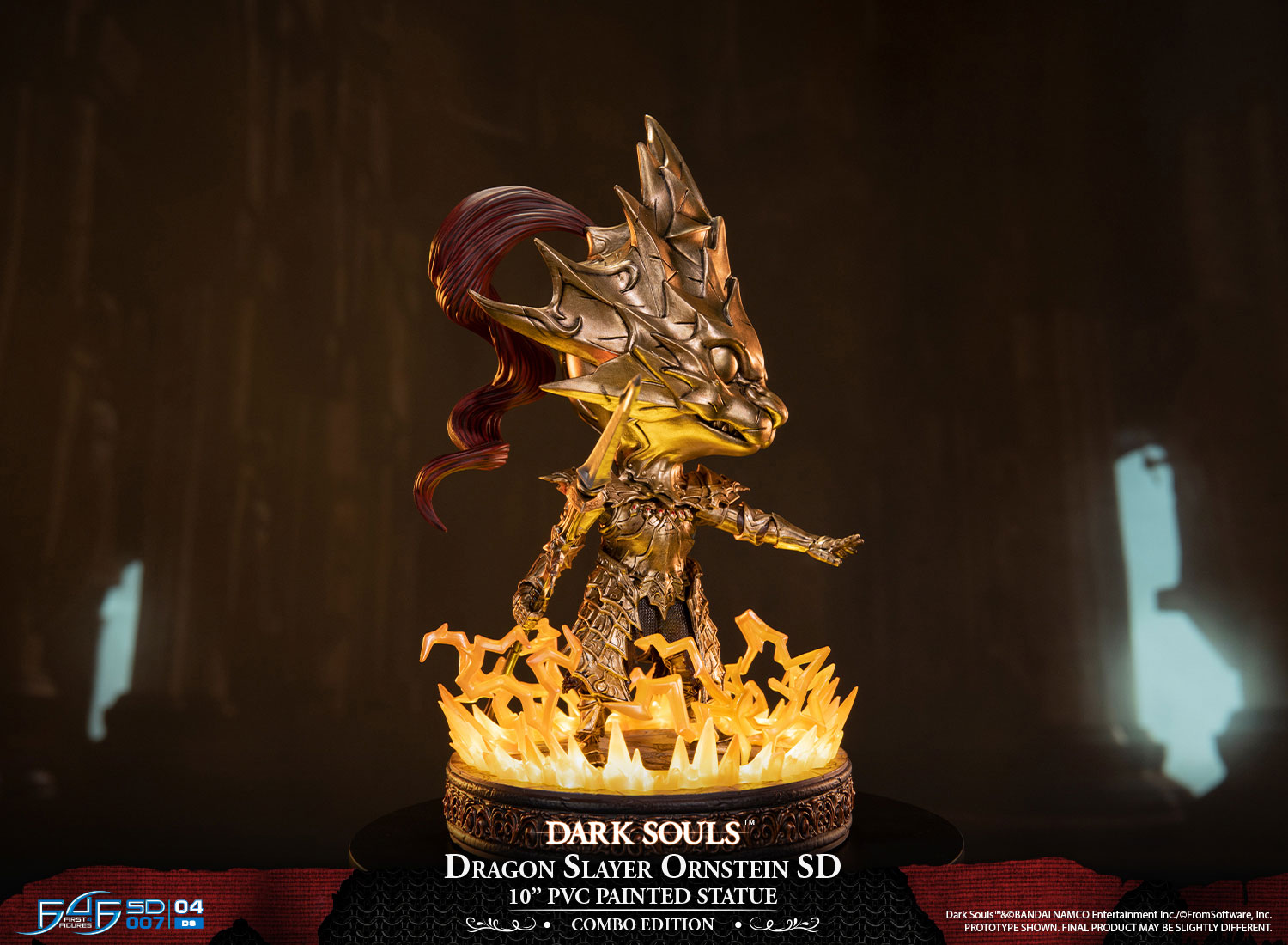 Dragon Slayer Ornstein SD & Old Dragonslayer SD (Combo Edition)