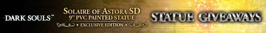 Solaire of Astora SD (Exclusive) Statue Giveaways