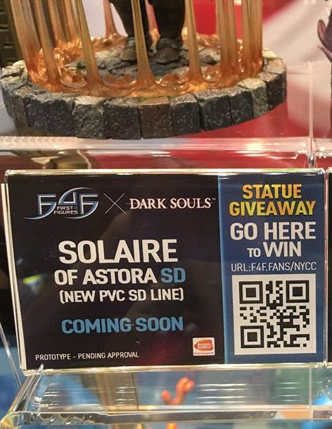 Solaire of Astora SD NYCC Label