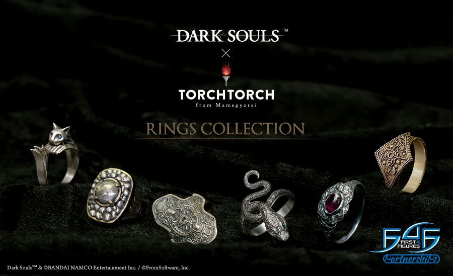 F4F x TORCH TORCH Dark Souls Ring Collection