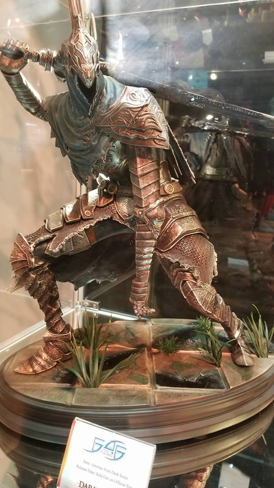 F4F's Artorias the Abysswalker also on display