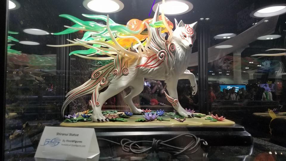 F4F's Shiranui in Capcom's booth during E3 2018
