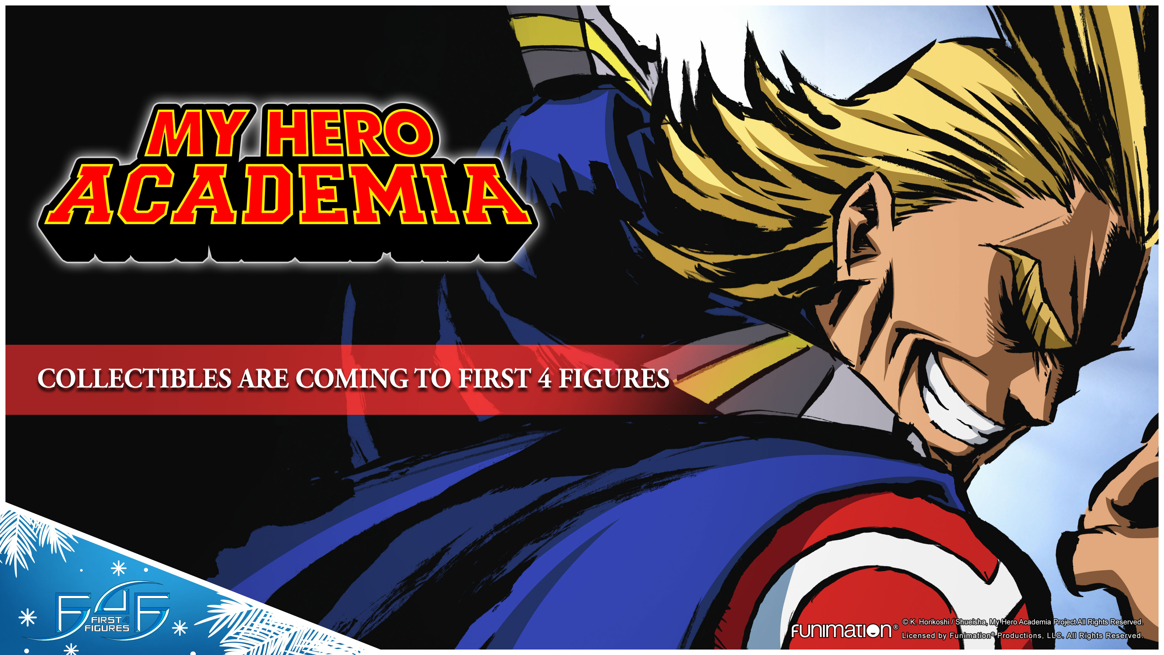 My Hero Academia collectibles are coming to First 4 Figures