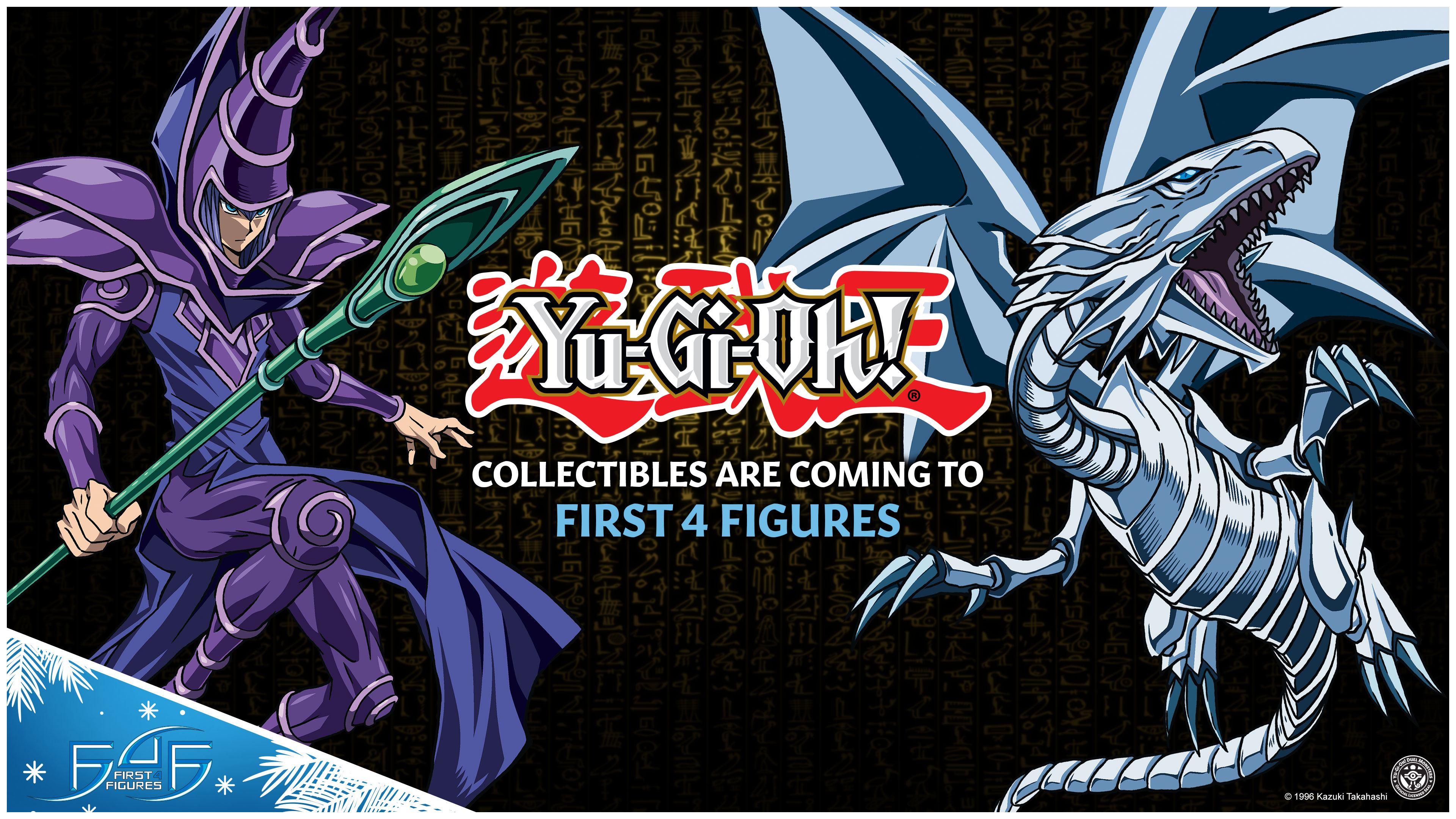 Yu-Gi-Oh! collectibles are coming to First 4 Figures