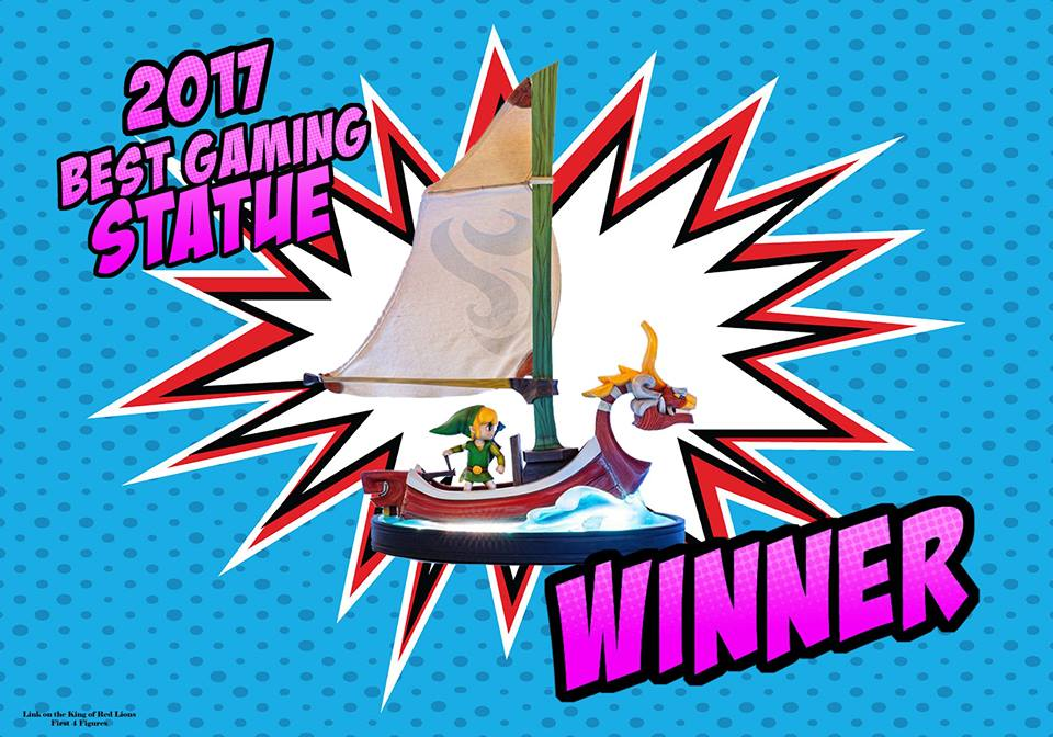 Best Gaming Statue of 2017 - F4F's Link on the King of Red Lions