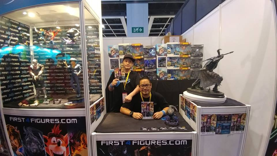F4F Booth C30 in ACGHK 2018
