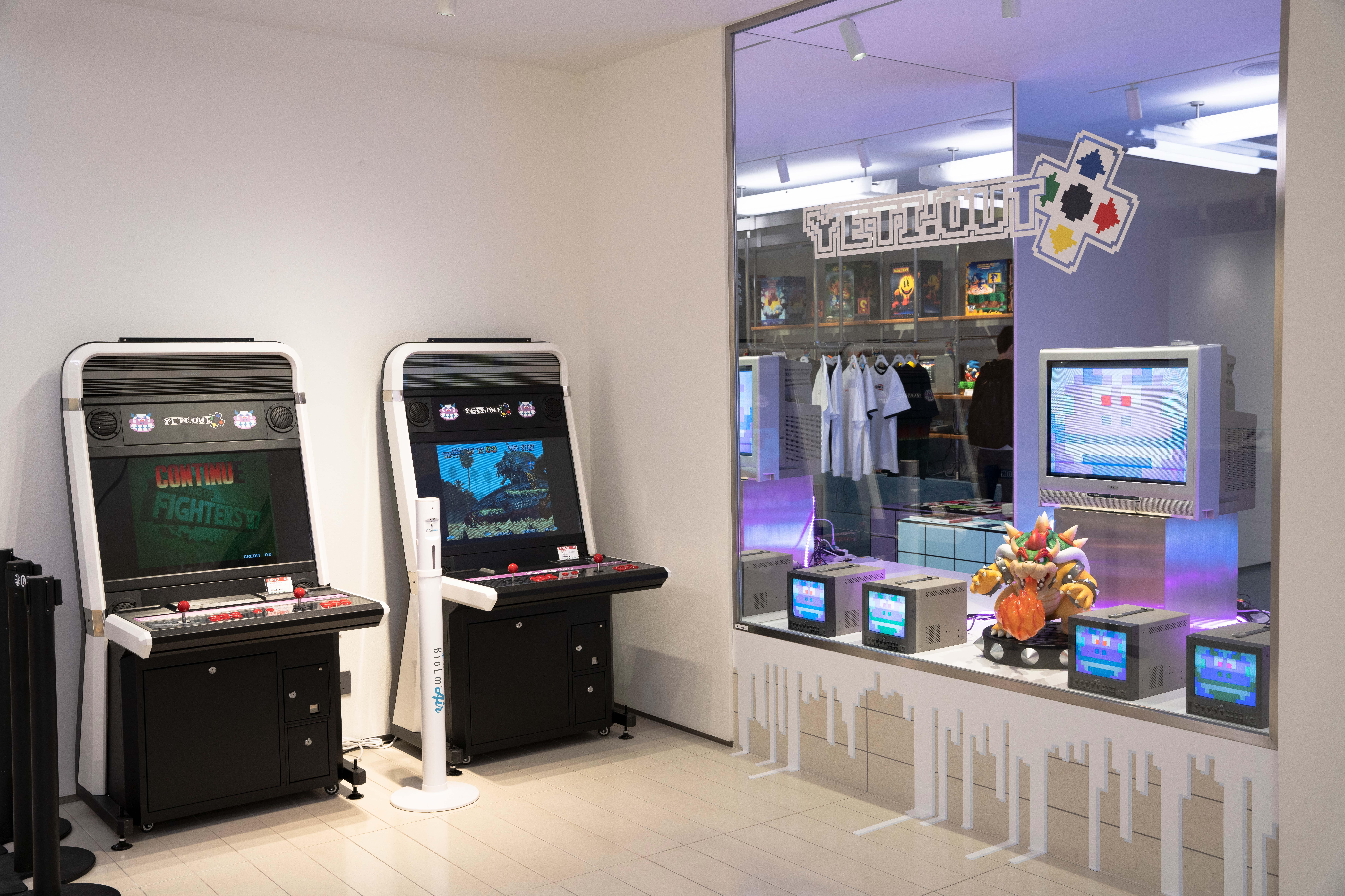 Bowser at AV BELOWGROUND Arcade Event
