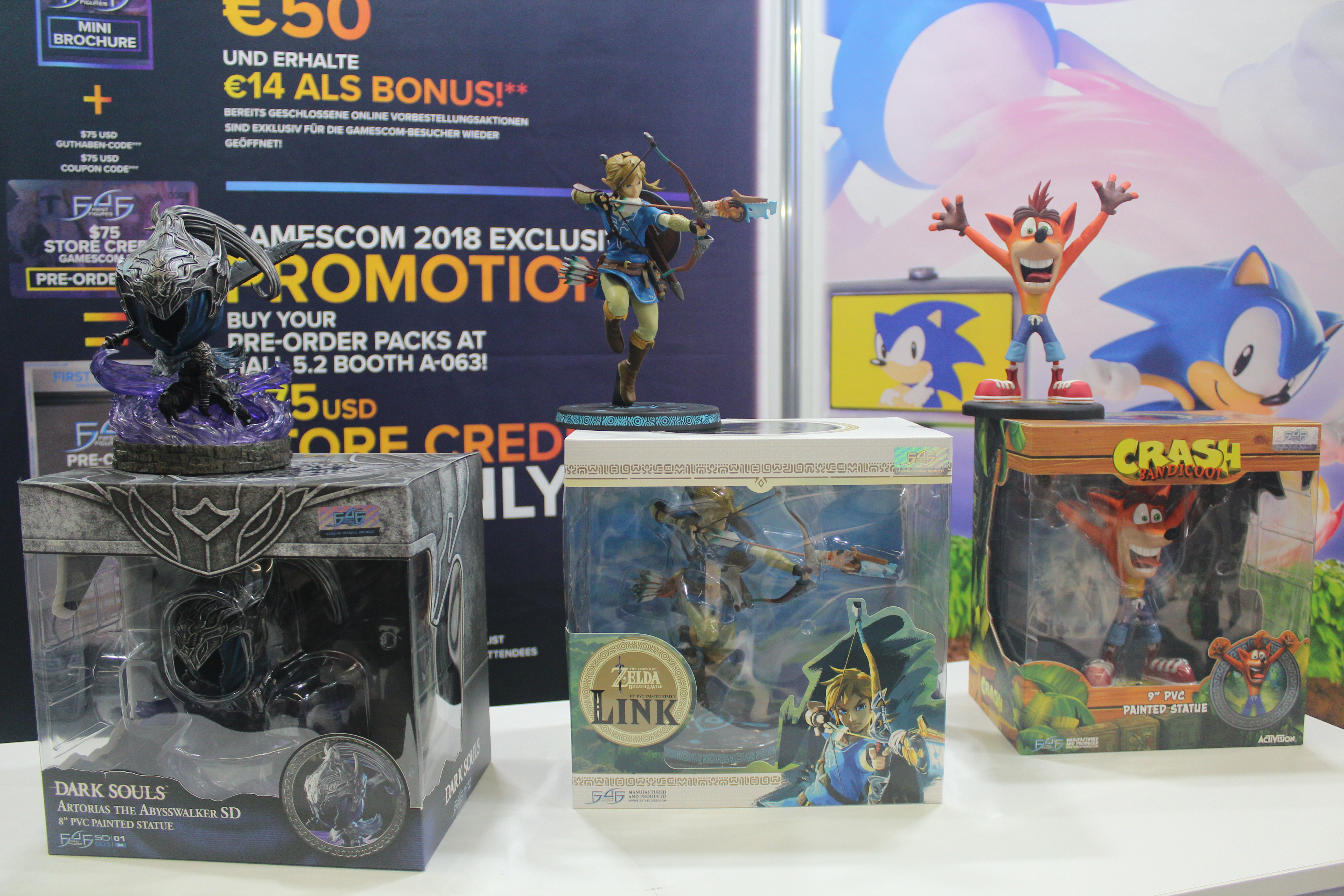 Gamescom 2018 in-stock items