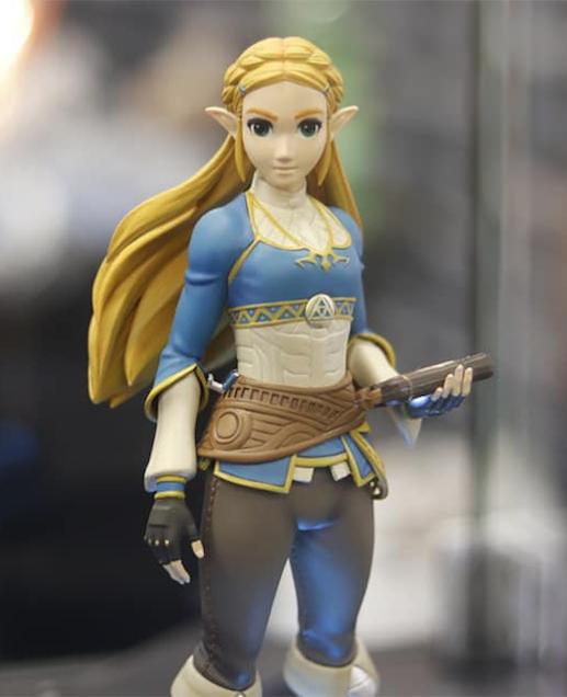 First 4 Figures Zelda PVC @ Gamescom 2019 (CREDIT: Irene van Weerdenburg-Grimbergen)