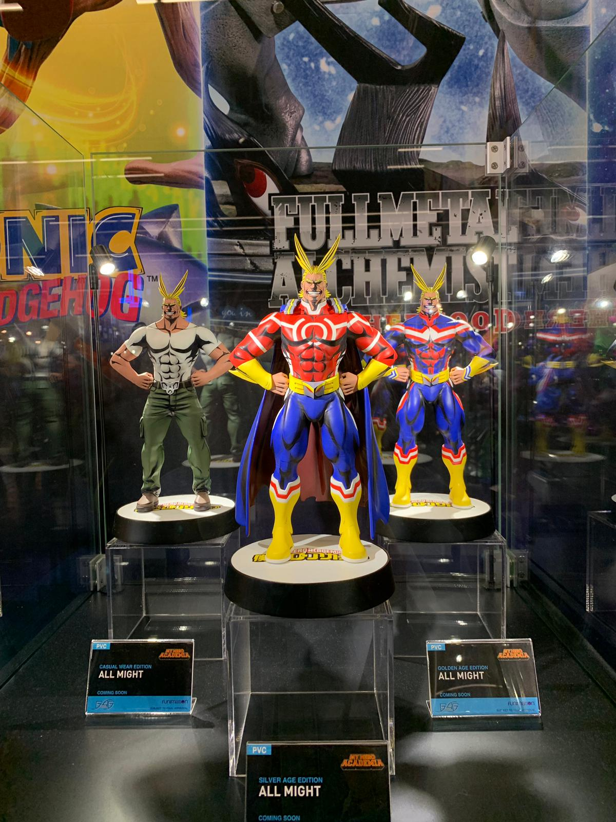 First 4 Figures All Might Action Figure @ Gamescom 2019