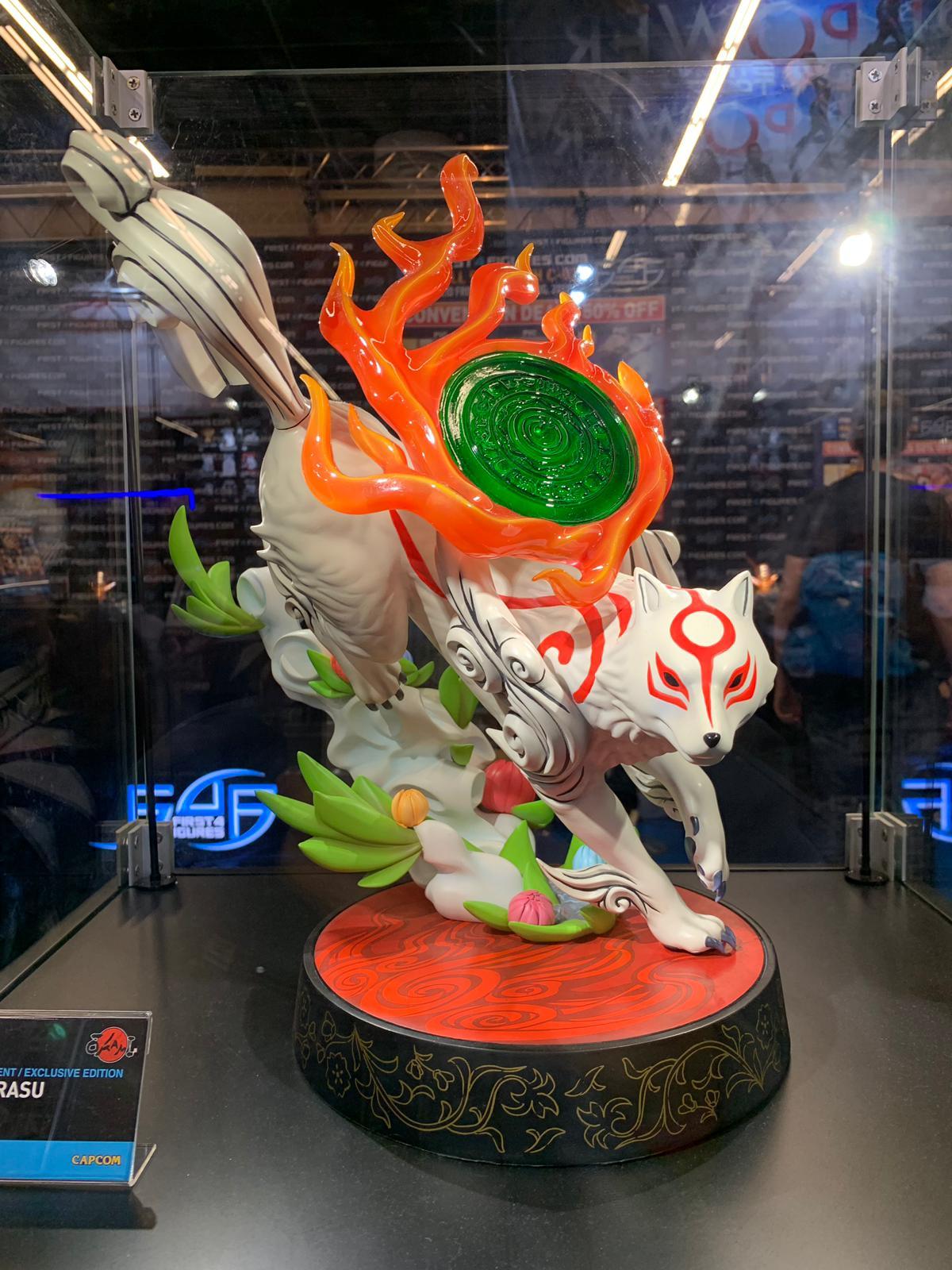 First 4 Figures Amaterasu Resin @ Gamescom 2019