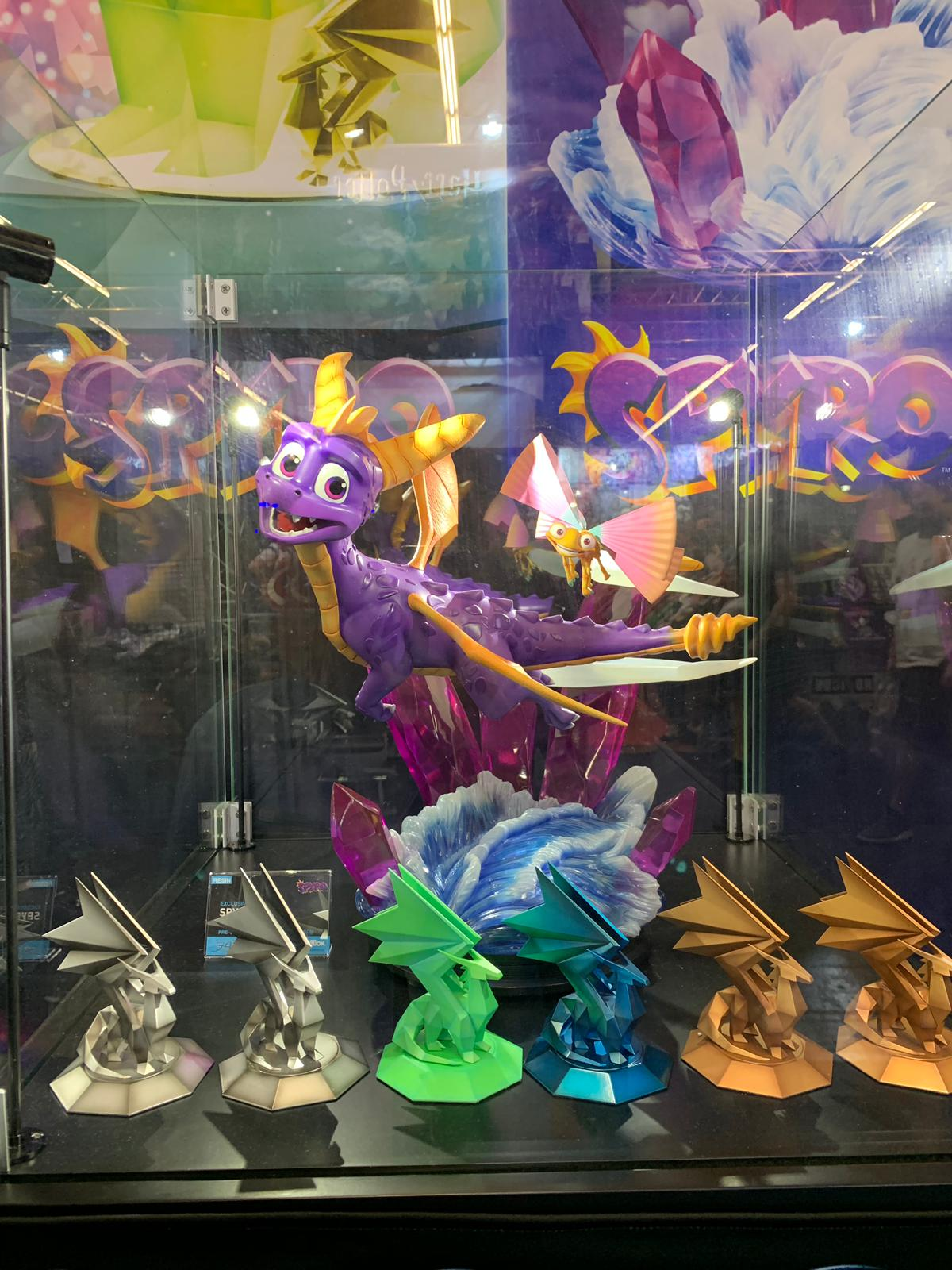First 4 Figures Spyro™ Reignited Resin @ Gamescom 2019