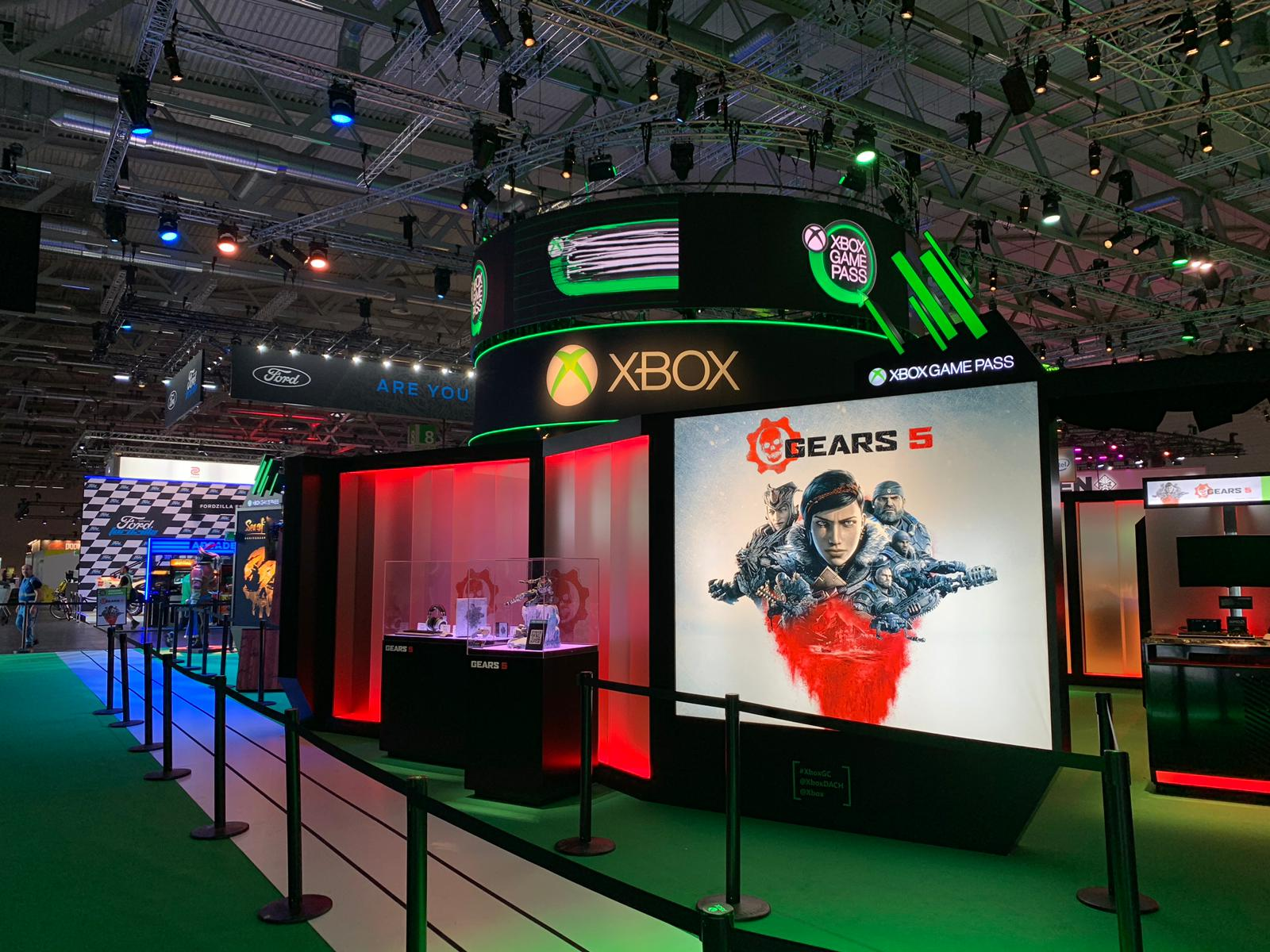 Microsoft booth @ Gamescom 2019