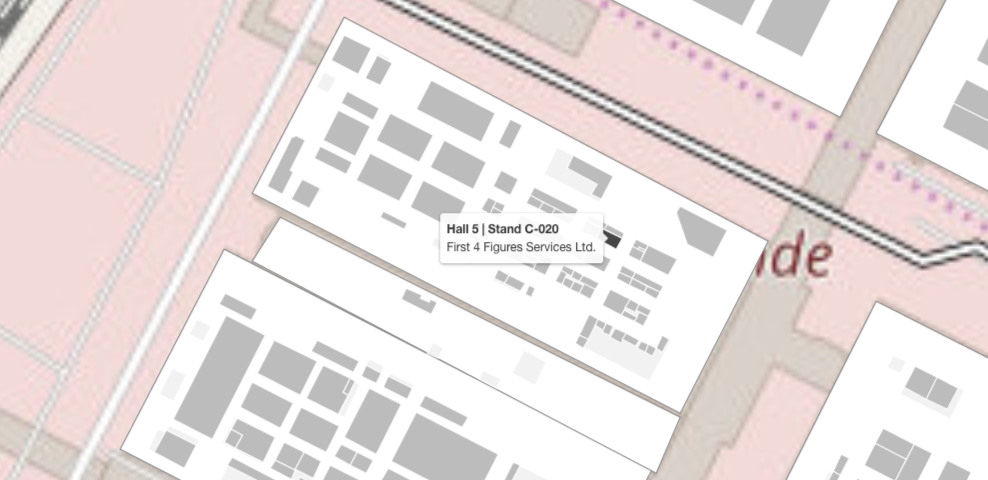 Gamescom 2019 First 4 Figures booth location