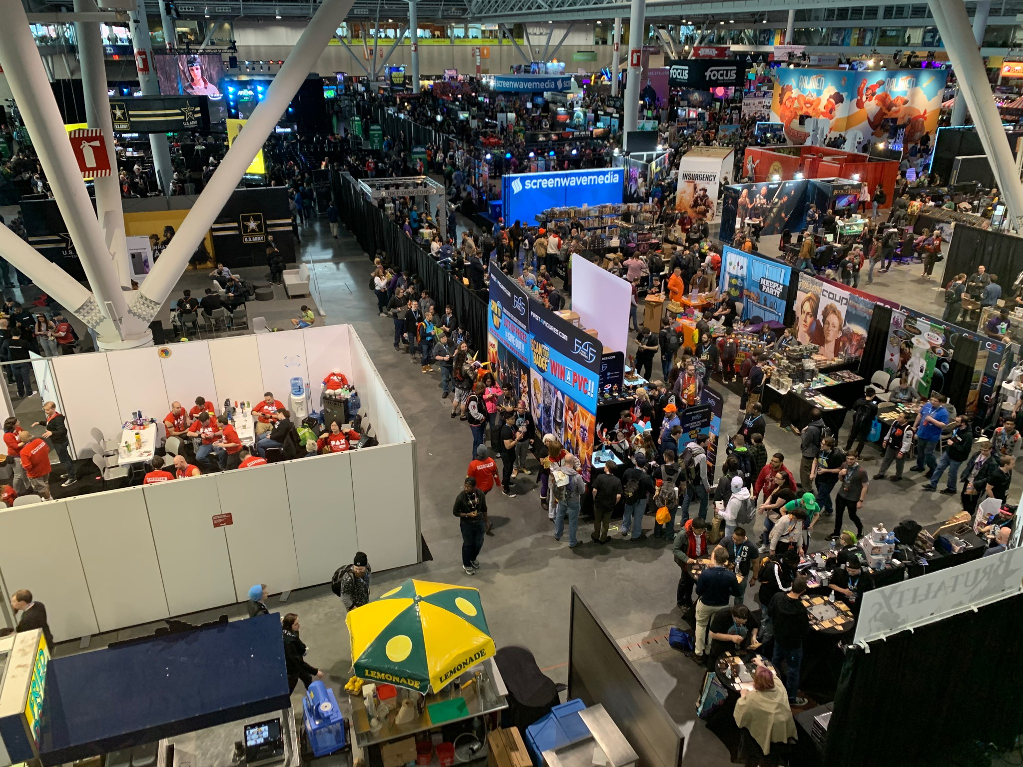 Opening day @ PAX East 2020