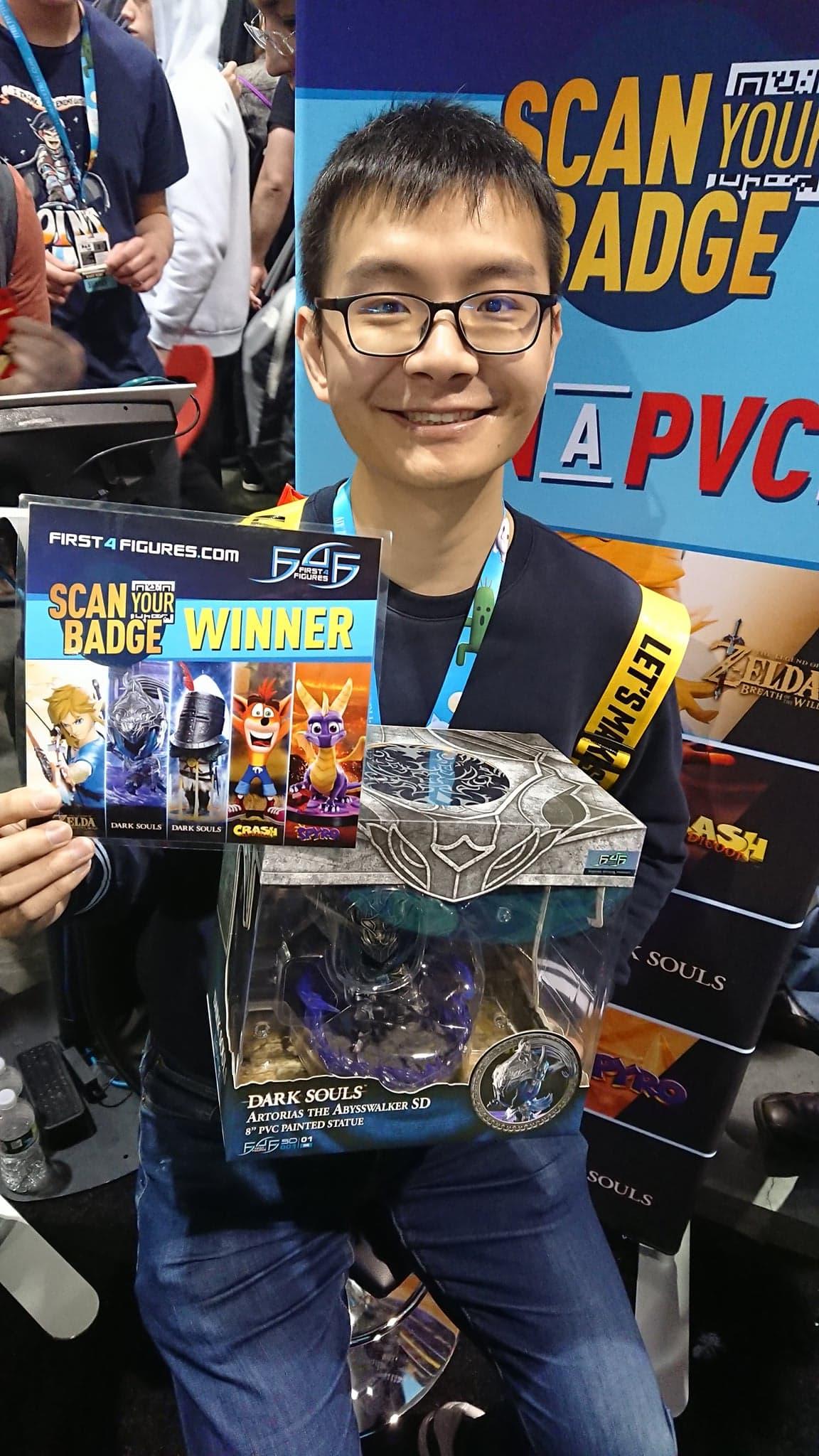 Scan to Win winners @ PAX East 2020