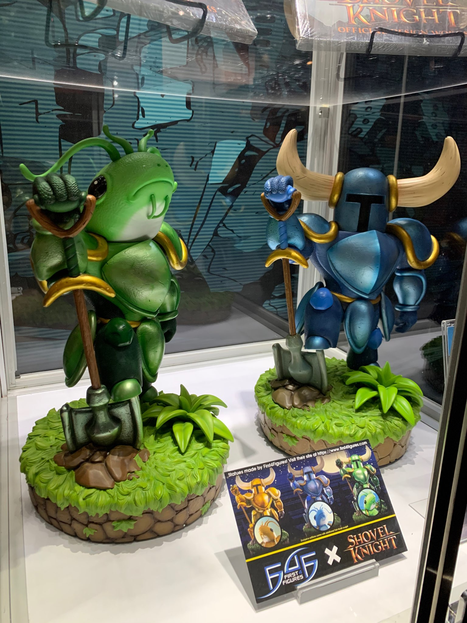 First 4 Figures Shovel Knight in Yacht Club Games' booth @ PAX East 2020