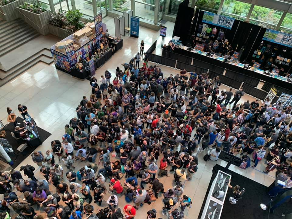 Opening day @ PAX West 2019