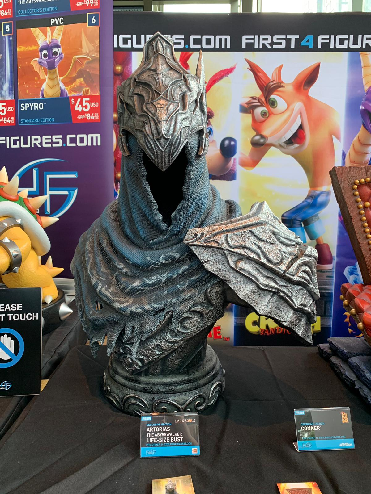 First 4 Figures Artorias the Abysswalker Life-Size Bust @ PAX West 2019