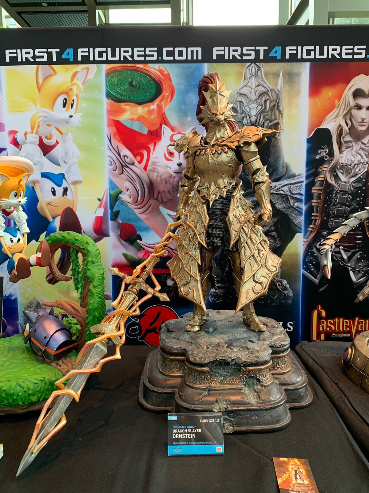 First 4 Figures Dragon Slayer Ornstein @ PAX West 2019
