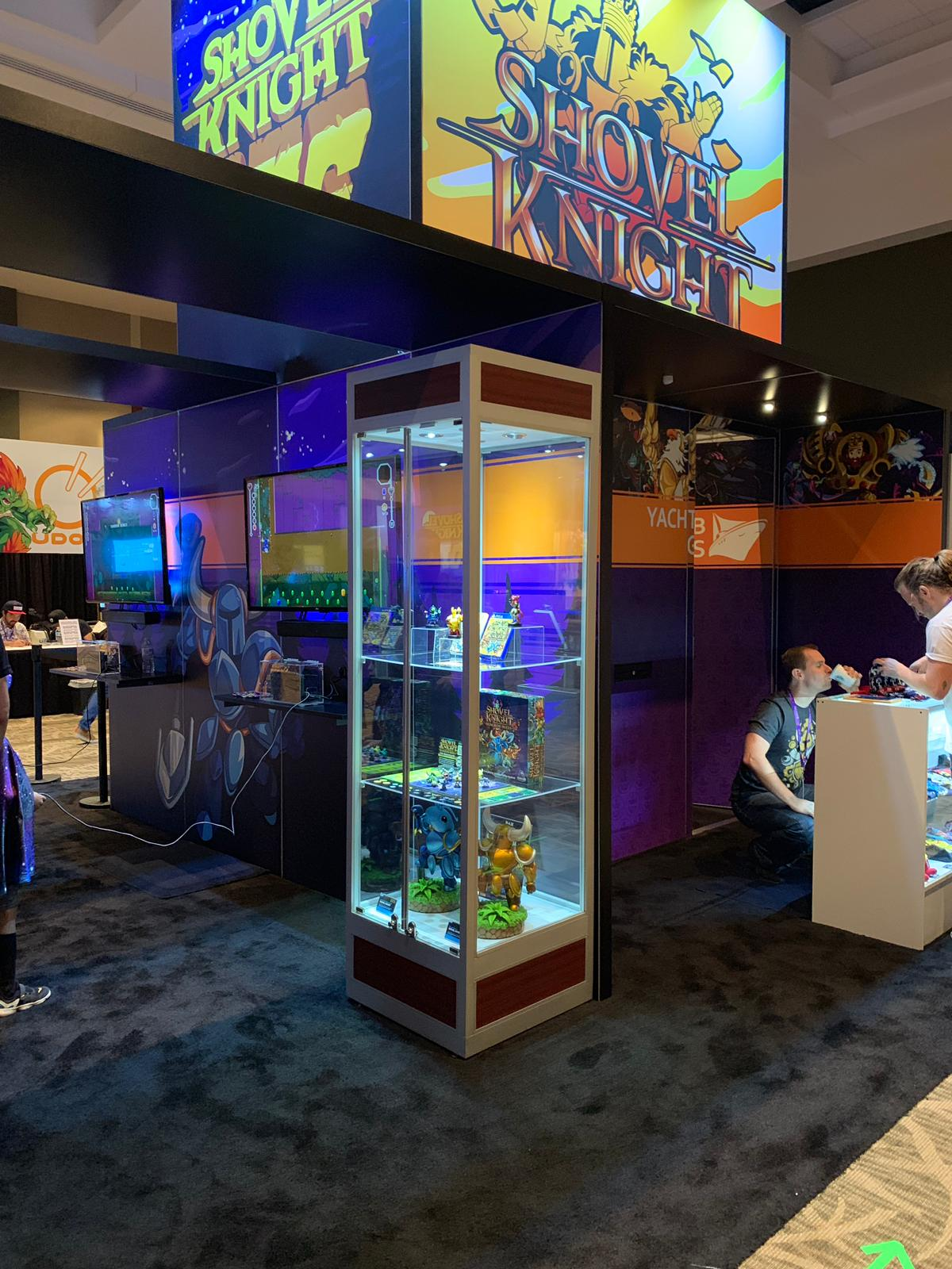 Yacht Club Games booth @ PAX West 2019