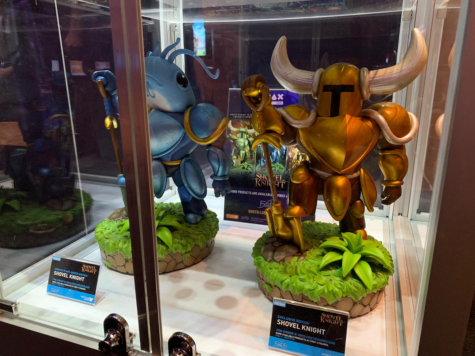 First 4 Figures Shovel Knight in Yacht Club Games' booth @ PAX West 2019