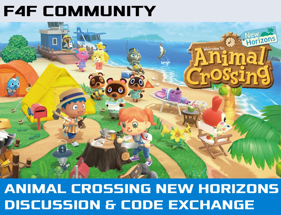 F4F Animal Crossing Discussion Community Post
