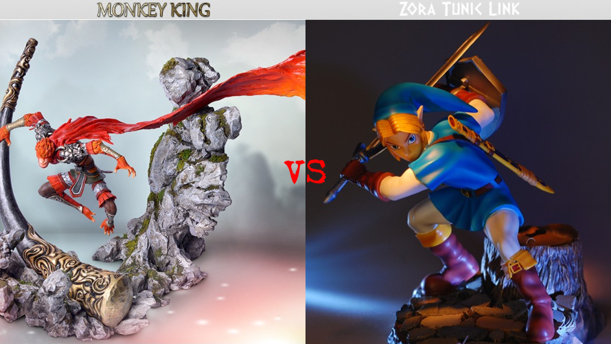 Monkey King vs. Zora Tunic Link