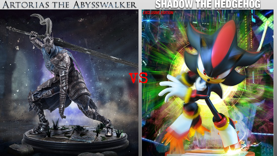 Artorias the Abysswalker vs. Shadow the Hedgehog