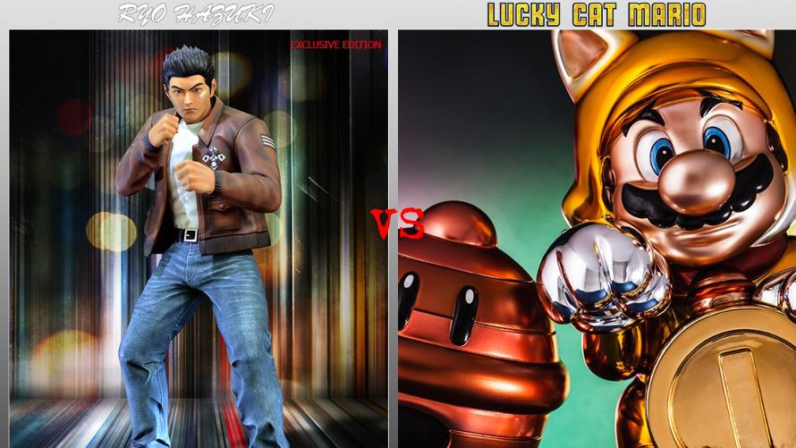Ryo Hazuki vs. Lucky Cat Mario
