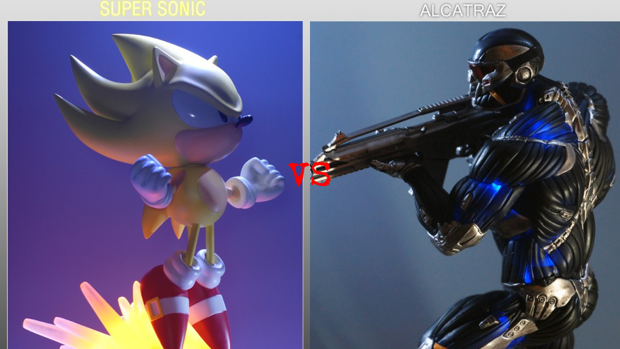 Super Sonic vs. Alcatraz