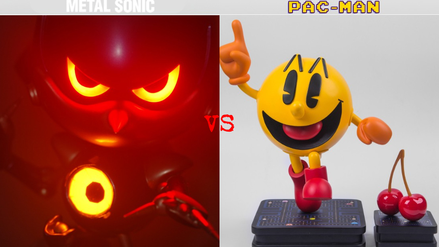 Metal Sonic vs. Pac-Man