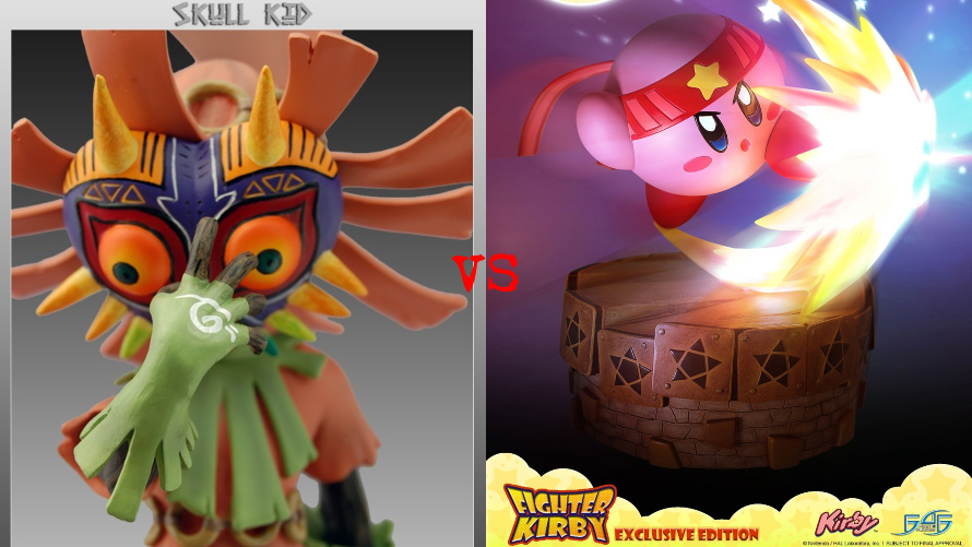 Skull Kid vs. Fighter Kirby
