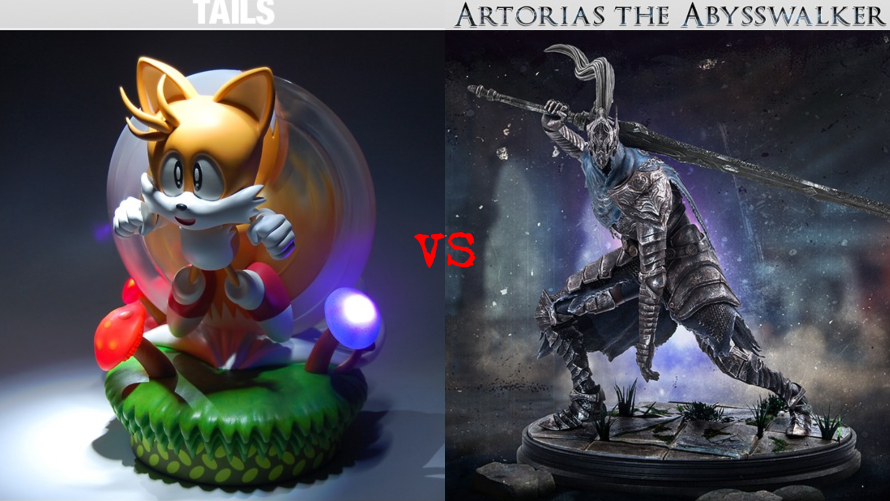 Tails vs. Artorias the Abysswalker